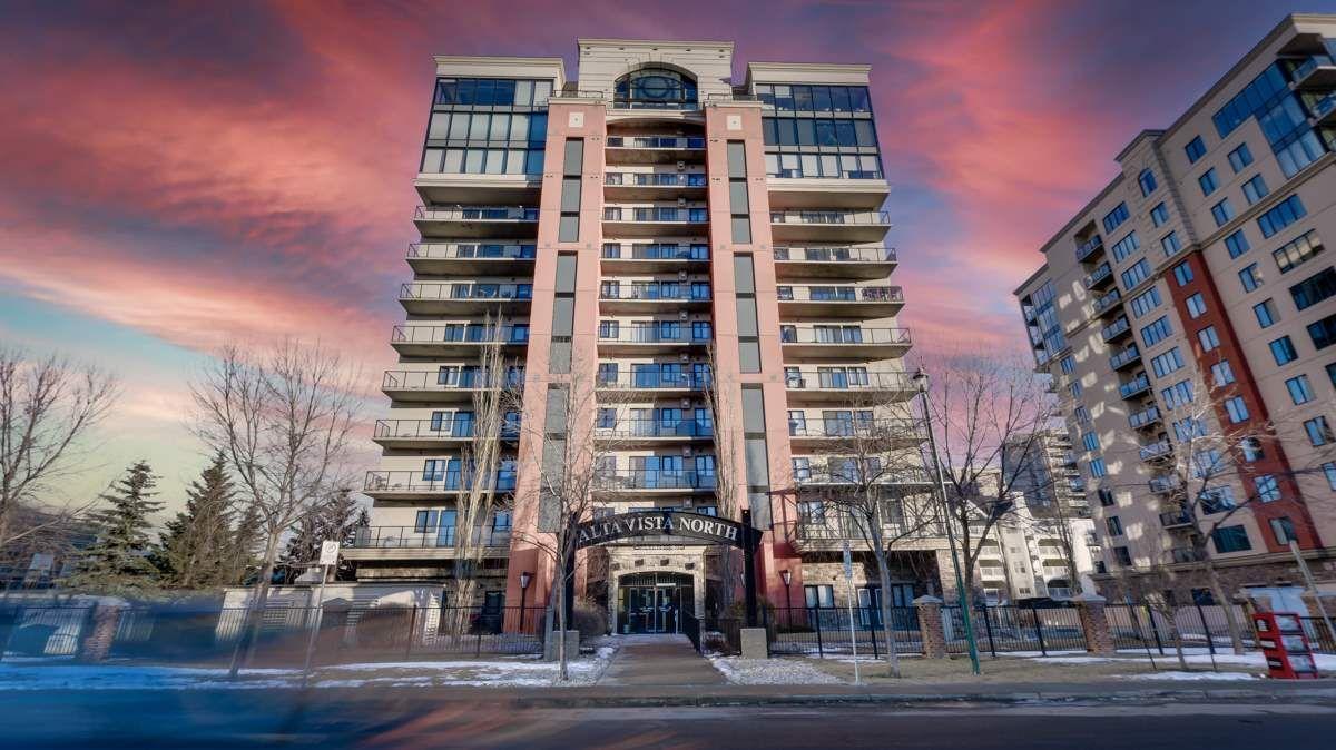 Main Photo: 702 10319 111 Street in Edmonton: Zone 12 Condo for sale : MLS®# E4235871