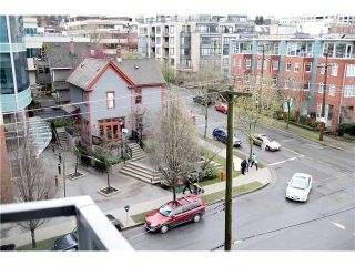 "Photo 8: 605 587 W 7TH Avenue in Vancouver: Fairview VW Condo for sale in ""THE AFFINITY"" (Vancouver West)  : MLS®# V1117685"