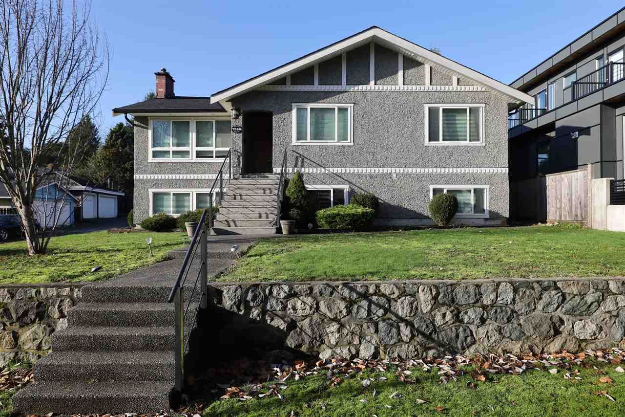 Main Photo: 7589 VIVIAN Drive in Vancouver: Fraserview VE House for sale (Vancouver East)  : MLS®# R2531068