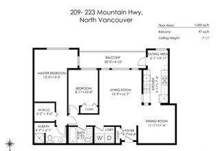 """Photo 36: 209 223 MOUNTAIN Highway in North Vancouver: Lynnmour Condo for sale in """"Mountain Village"""" : MLS®# R2588794"""