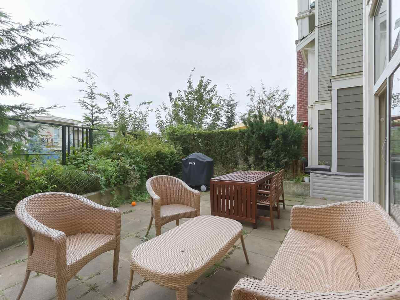 """Main Photo: 107 285 ROSS Drive in New Westminster: Fraserview NW Condo for sale in """"THE GROVE"""" : MLS®# R2395560"""