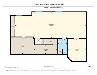 Photo 14: 35 903 109 Street in Edmonton: Zone 16 Townhouse for sale : MLS®# E4253834