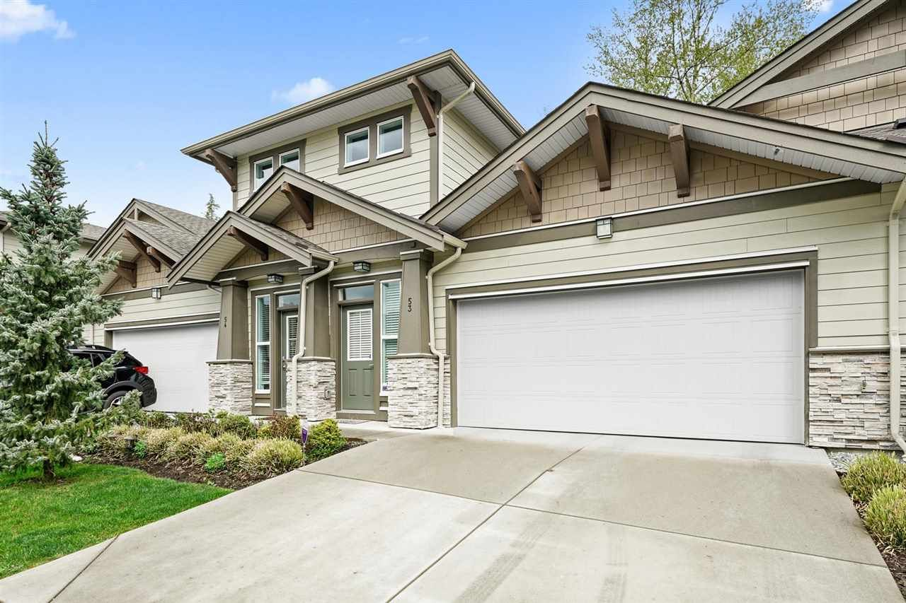 Main Photo: 53 7138 210 Street in Langley: Willoughby Heights Townhouse for sale : MLS®# R2572879