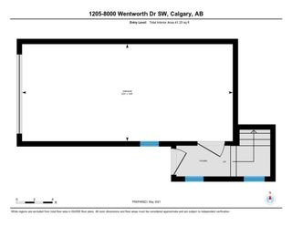 Photo 35: 1205 8000 Wentworth Drive SW in Calgary: West Springs Row/Townhouse for sale : MLS®# A1100584