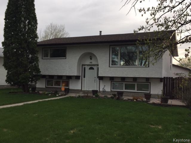 Main Photo: 46 Russenholt Street in Winnipeg: Crestview Residential for sale (5H)  : MLS®# 1712454
