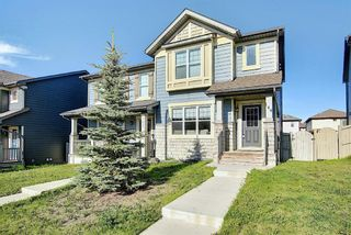 Photo 2: 144 PANAMOUNT Way NW in Calgary: Panorama Hills Semi Detached for sale : MLS®# A1114610