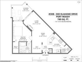 "Photo 17: 308 300 KLAHANIE Drive in Port Moody: Port Moody Centre Condo for sale in ""KLAHANIE - TIDES BLDG."" : MLS®# R2480822"