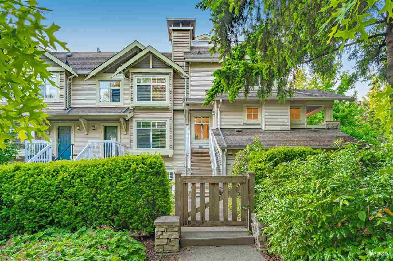 Main Photo: 17 7488 SOUTHWYNDE Avenue in Burnaby: South Slope Townhouse for sale (Burnaby South)  : MLS®# R2590901