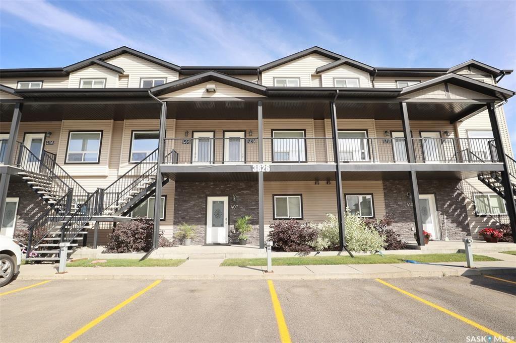 Main Photo: 408 3826 Dewdney Avenue East in Regina: East Pointe Estates Residential for sale : MLS®# SK871647