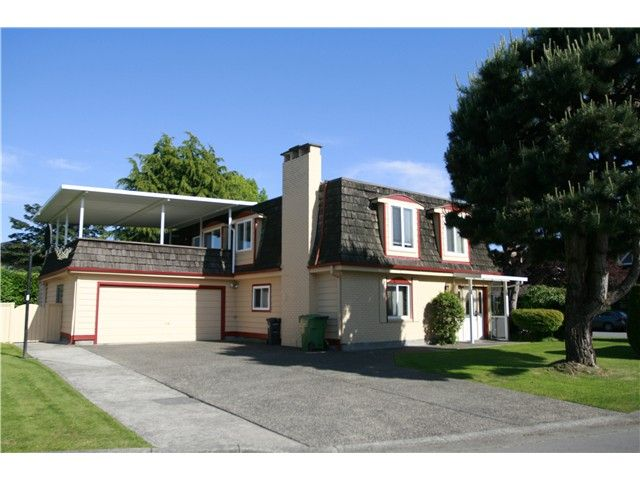 Main Photo: 10940 ROSELEA Crescent in Richmond: South Arm House for sale : MLS®# V1123585