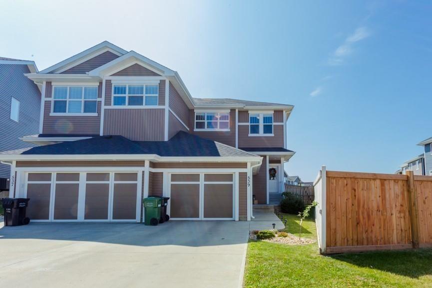 Main Photo: 539 Sturtz Link: Leduc House Half Duplex for sale : MLS®# E4259432
