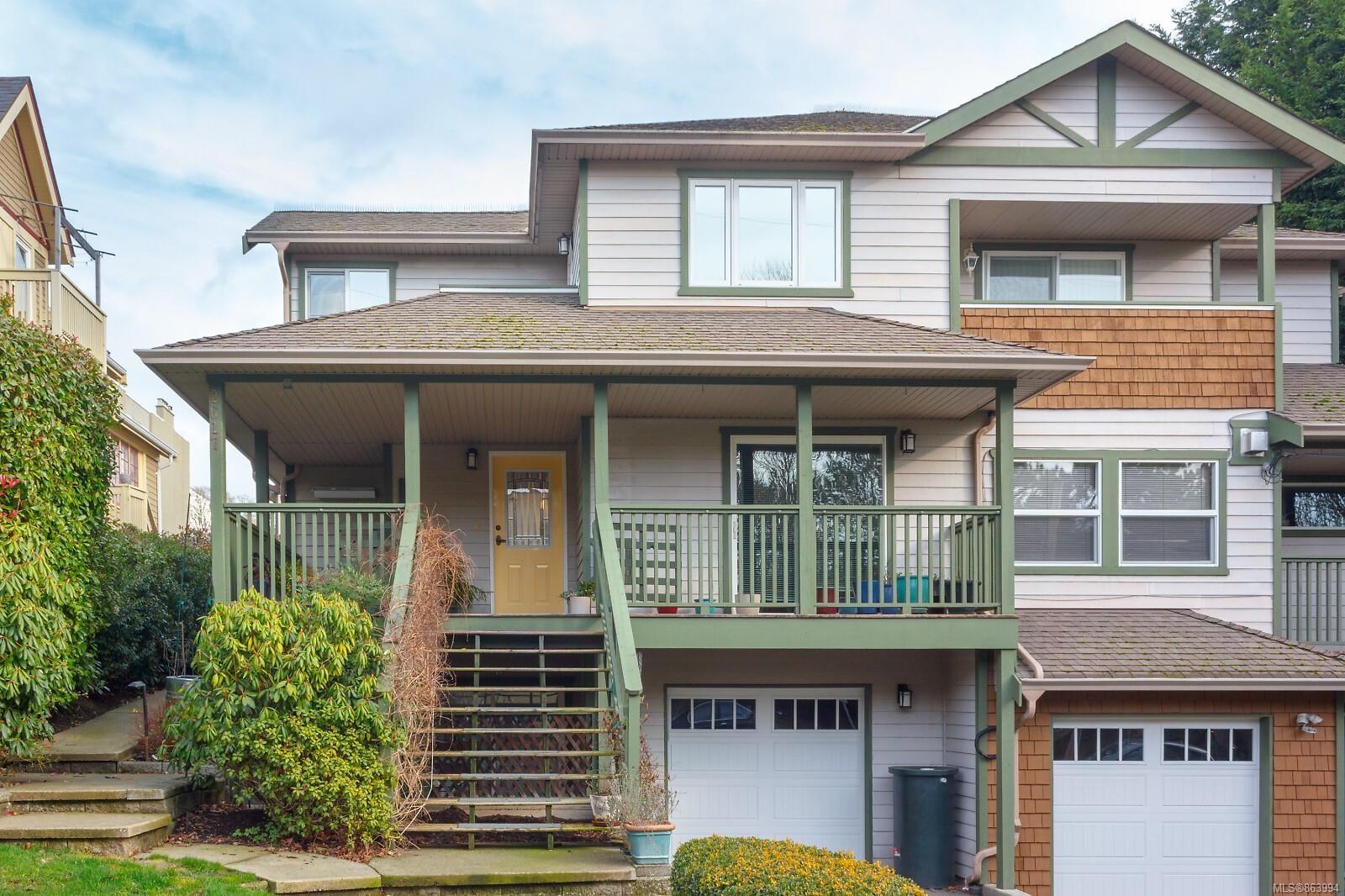 Main Photo: 2617 Prior St in : Vi Hillside Row/Townhouse for sale (Victoria)  : MLS®# 863994