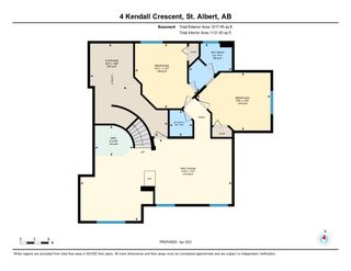 Photo 50: 4 Kendall Crescent: St. Albert House for sale : MLS®# E4236209