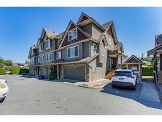 """Photo 1: 9 8880 NOWELL Street in Chilliwack: Chilliwack E Young-Yale Townhouse for sale in """"Parkside Place"""" : MLS®# R2607248"""