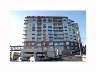 "Photo 1: 405 200 KEARY Street in New Westminster: Sapperton Condo for sale in ""ANVIL"" : MLS®# V817040"