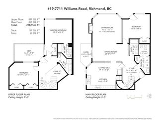 """Photo 31: 19 7711 WILLIAMS Road in Richmond: Broadmoor Townhouse for sale in """"The Gates"""" : MLS®# R2488663"""