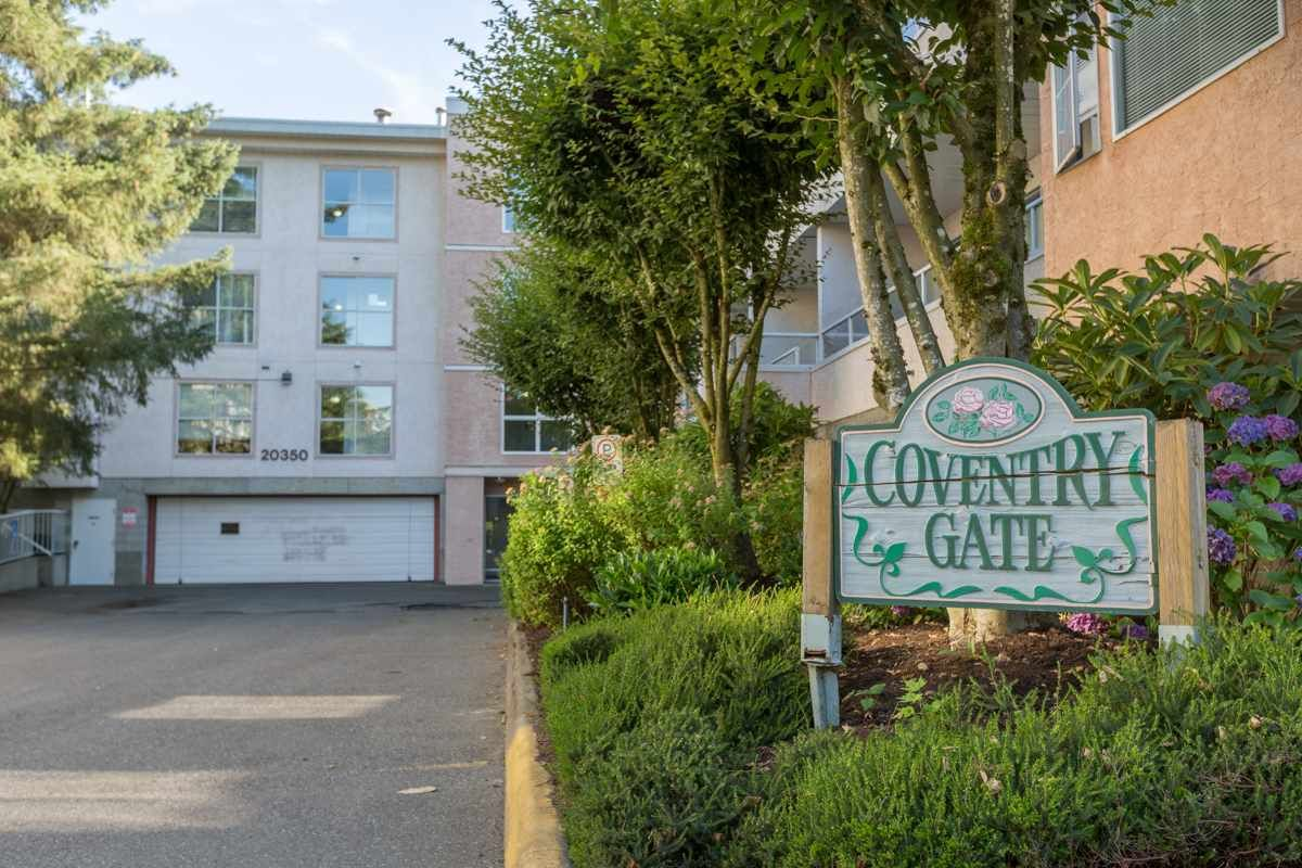 """Main Photo: 104 20350 54TH Avenue in Langley: Langley City Condo for sale in """"Coventry Gate"""" : MLS®# R2096484"""