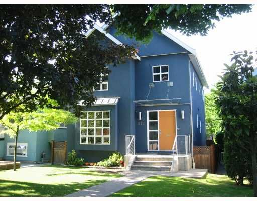 Main Photo: 813 W 18TH Avenue in Vancouver: Cambie House for sale (Vancouver West)  : MLS®# V655425