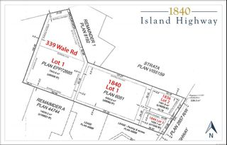 Photo 3: 1840 Island Hwy in : Co Colwood Corners Unimproved Land for sale (Colwood)  : MLS®# 868655