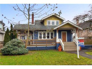 """Photo 1: 2249 W 35TH Avenue in Vancouver: Quilchena House for sale in """"KERRISDALE/QUILCHENA"""" (Vancouver West)  : MLS®# V927101"""