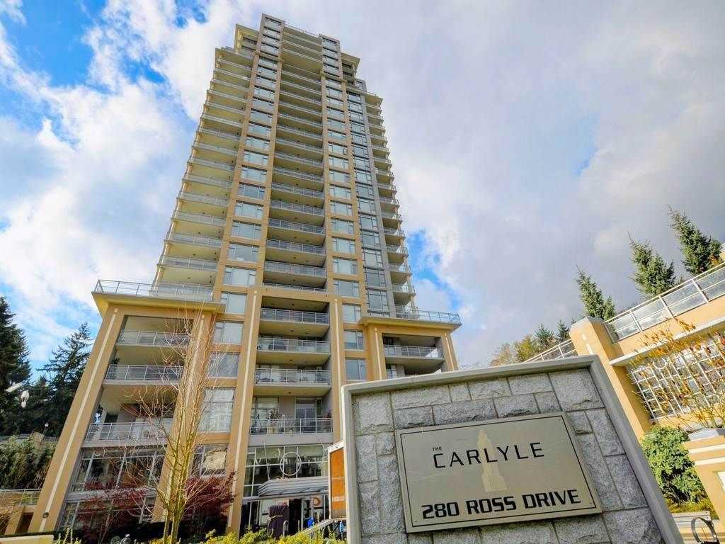 """Main Photo: 2003 280 ROSS Drive in New Westminster: Fraserview NW Condo for sale in """"THE CARLYLE"""" : MLS®# R2278422"""