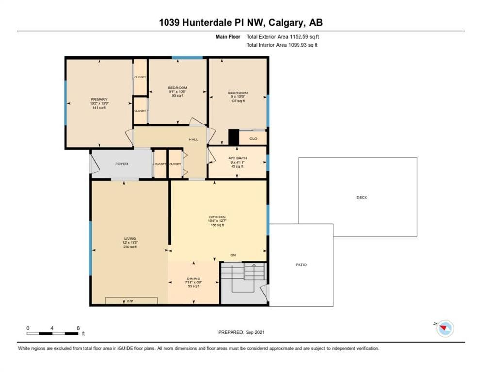 Photo 34: Photos: 1039 Hunterdale Place NW in Calgary: Huntington Hills Detached for sale : MLS®# A1144126