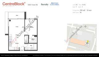 "Photo 5: 1101 9393 TOWER Road in Burnaby: Simon Fraser Univer. Condo for sale in ""CentreBlock"" (Burnaby North)  : MLS®# R2604666"
