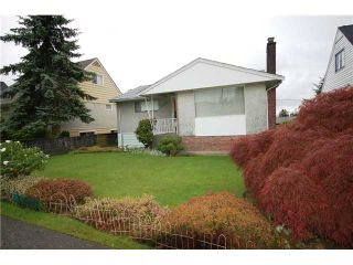 Photo 1: 3363 DIEPPE DR in Vancouver: Renfrew Heights House for sale (Vancouver East)  : MLS®# V1008087