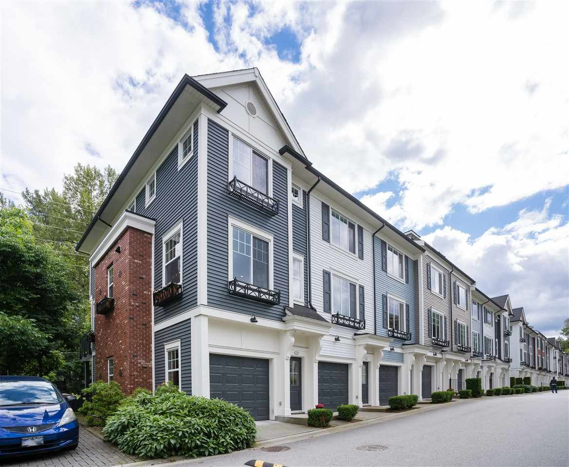 """Main Photo: 131 3010 RIVERBEND Drive in Coquitlam: Coquitlam East Townhouse for sale in """"Westwood by Mosaic"""" : MLS®# R2470459"""