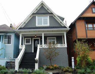 Photo 1: 2012 WILLIAM Street in Vancouver: Grandview VE House for sale (Vancouver East)  : MLS®# V795593