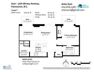 """Photo 24: M310 5681 BIRNEY Avenue in Vancouver: University VW Condo for sale in """"IVY ON THE PARK"""" (Vancouver West)  : MLS®# R2589382"""