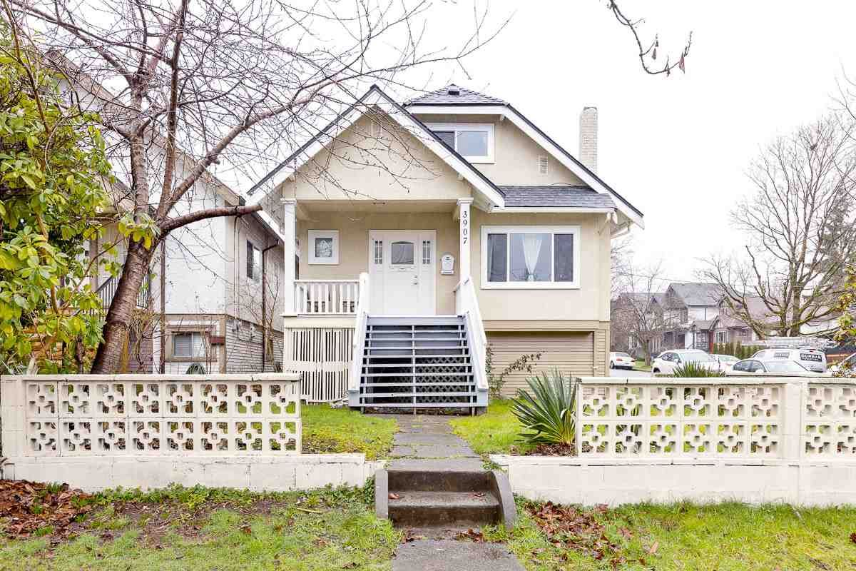 Main Photo: 3907 DUNBAR Street in Vancouver: Dunbar House for sale (Vancouver West)  : MLS®# R2583919