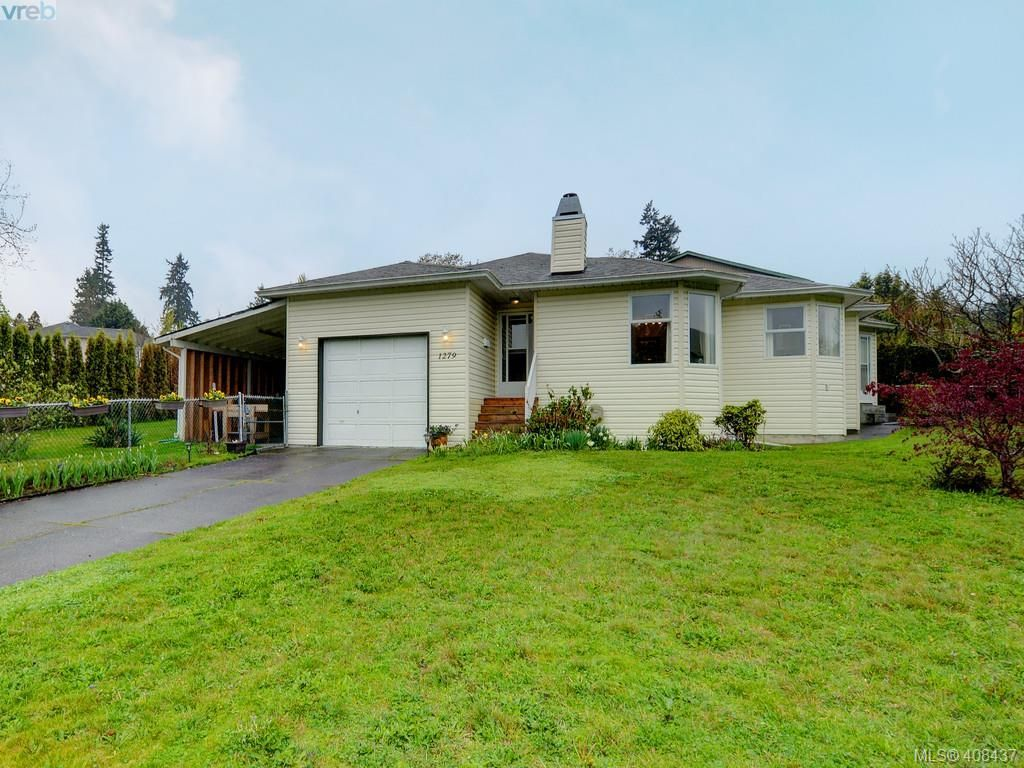 Main Photo: 1279 Lidgate Crt in VICTORIA: SW Strawberry Vale House for sale (Saanich West)  : MLS®# 811754