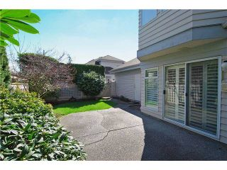 """Photo 10: 9 7760 BLUNDELL Road in Richmond: Broadmoor Townhouse for sale in """"SUNNYMEDE ESTATES"""" : MLS®# V942111"""