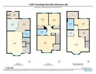 Photo 29: 7 5281 TERWILLEGAR Boulevard in Edmonton: Zone 14 Townhouse for sale : MLS®# E4229393