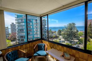"Photo 8: 601 2167 BELLEVUE Avenue in West Vancouver: Dundarave Condo for sale in ""VANDEMAR WEST"" : MLS®# R2367187"