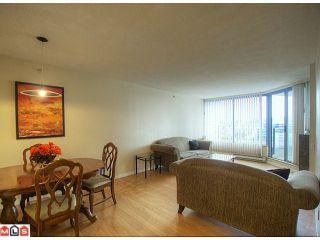 """Photo 3: 808 13353 108TH Avenue in Surrey: Whalley Condo for sale in """"CORNERSTONE 2"""" (North Surrey)  : MLS®# F1215598"""