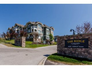 "Photo 1: 312 16398 64 Avenue in Surrey: Cloverdale BC Condo for sale in ""THE RIDGE AT BOSE FARMS"" (Cloverdale)  : MLS®# R2188215"
