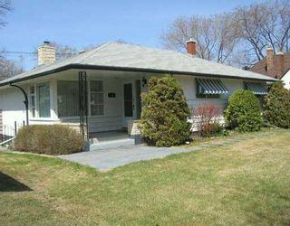 Photo 1: 320 KELVIN Boulevard in WINNIPEG: River Heights / Tuxedo / Linden Woods Single Family Detached for sale (South Winnipeg)  : MLS®# 2706871