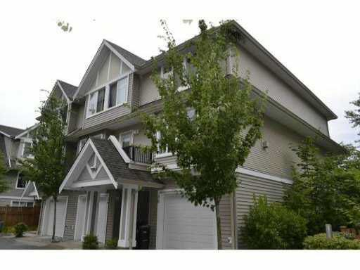 Main Photo: 30 19141 124TH AVENUE in : Mid Meadows Townhouse for sale : MLS®# V991498