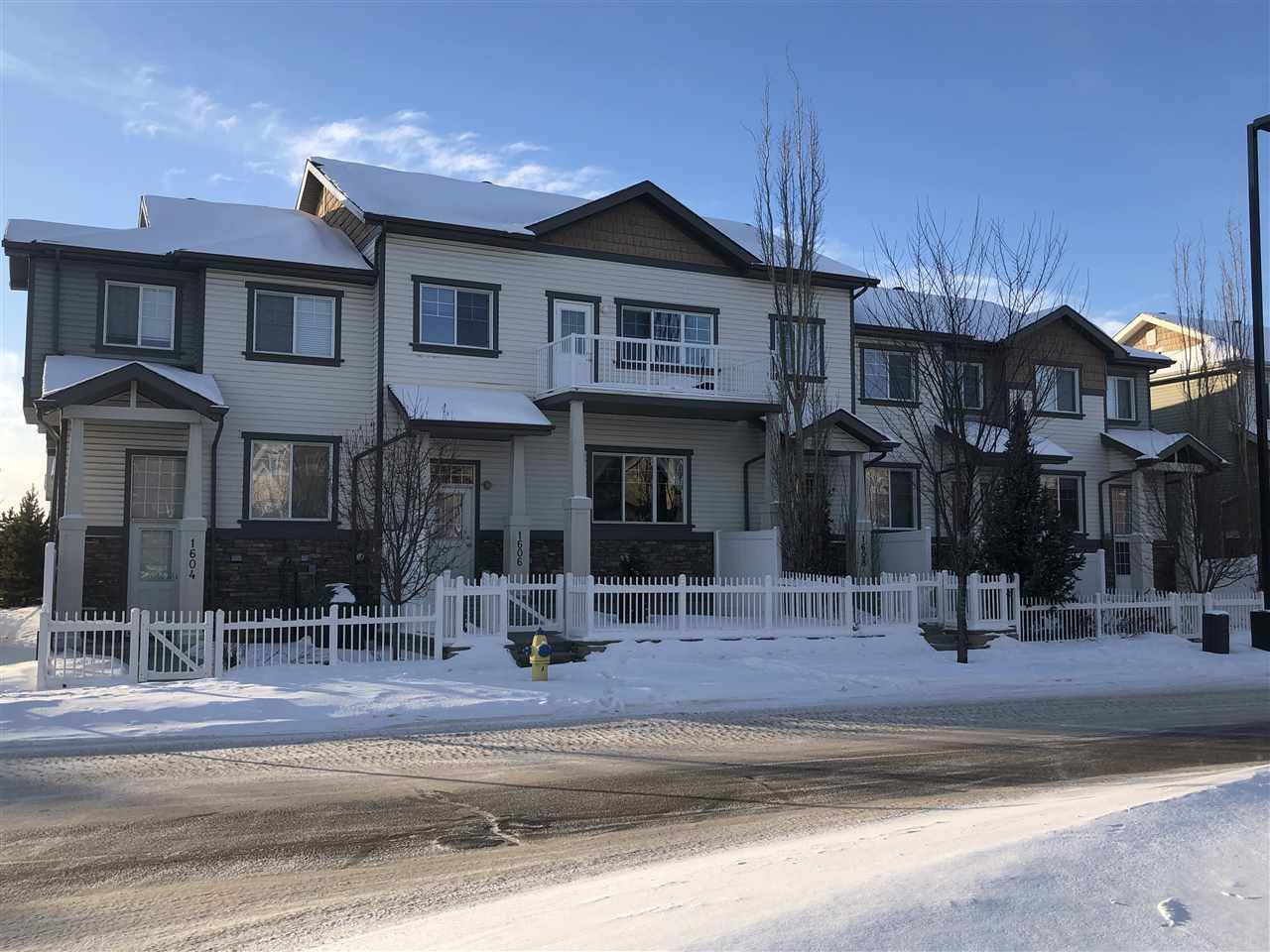 Main Photo: #1608 TOWNE CENTRE BV NW in Edmonton: Zone 14 Townhouse for sale : MLS®# E4235572