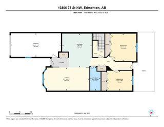 Photo 46: 13806 75 Street in Edmonton: Zone 02 House Half Duplex for sale : MLS®# E4261057