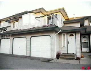 "Photo 1: 34332 MACLURE Road in Abbotsford: Central Abbotsford Townhouse for sale in ""IMMEL RIDGE"" : MLS®# F2627186"