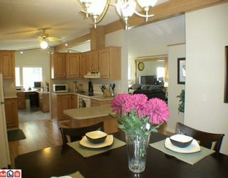 """Photo 10: 27A 24330 FRASER Highway in Langley: Otter District Manufactured Home for sale in """"LANGLEY GROVE ESTATES"""" : MLS®# F1002102"""