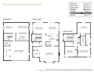 "Photo 39: 47160 PEREGRINE Avenue in Chilliwack: Promontory House for sale in ""PROMONTORY"" (Sardis)  : MLS®# R2531751"