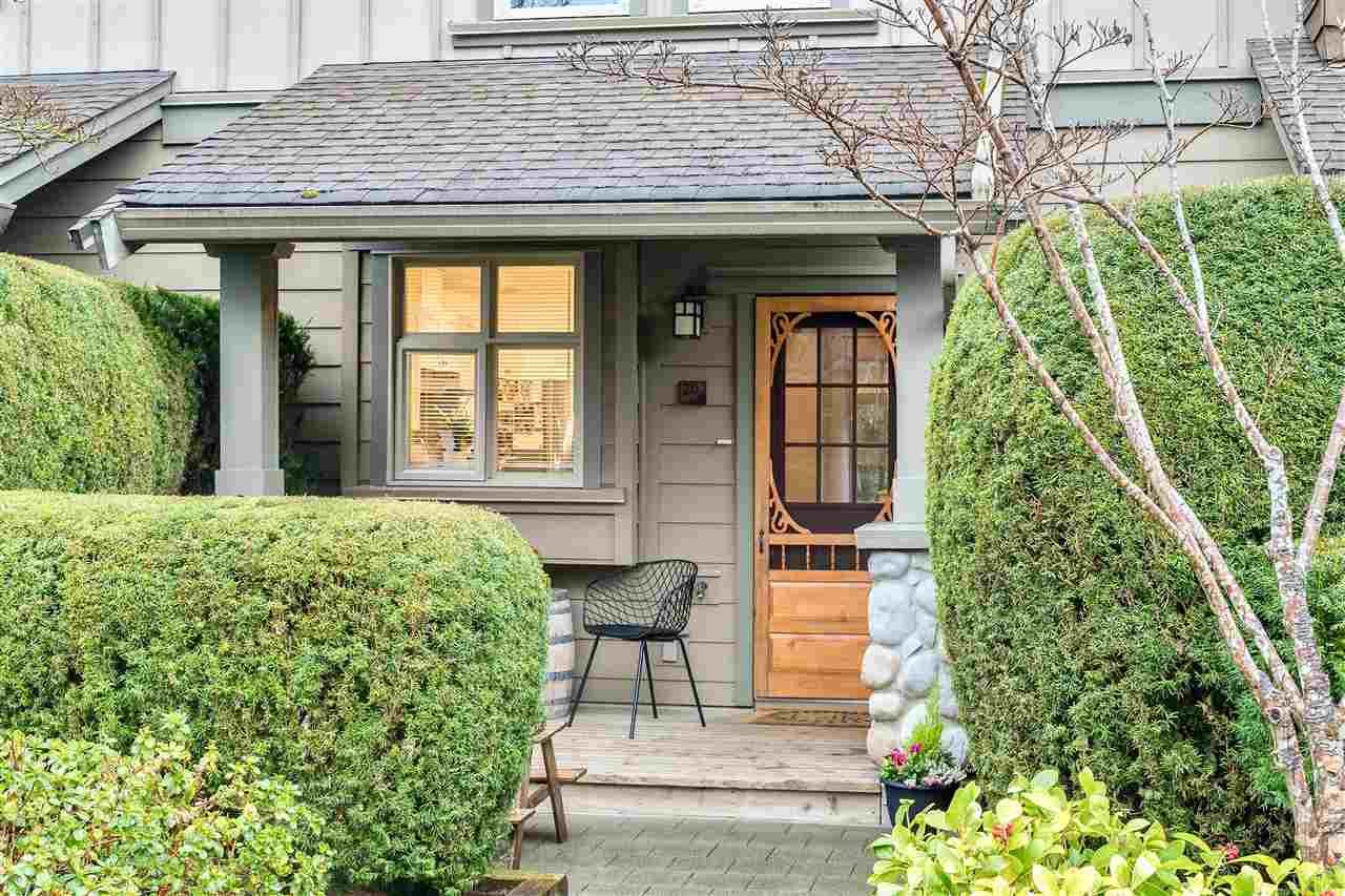 Main Photo: 233 18 JACK MAHONY PLACE in New Westminster: GlenBrooke North Townhouse for sale : MLS®# R2555924