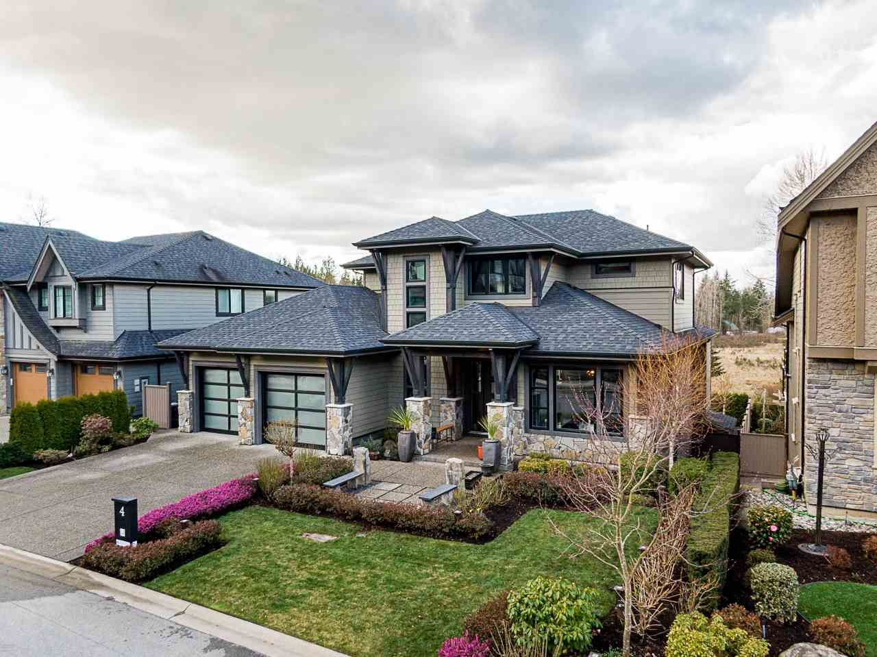 "Main Photo: 4 24455 61 Avenue in Langley: Salmon River House for sale in ""Hyde Canyon"" : MLS®# R2557634"
