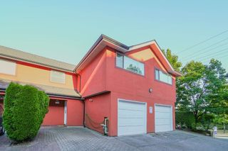 """Photo 1: 111 303 CUMBERLAND Street in New Westminster: Sapperton Townhouse for sale in """"Cumberland Court"""" : MLS®# R2606007"""
