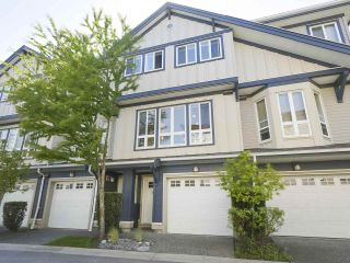 "Photo 1: 6 160 PEMBINA Street in New Westminster: Queensborough Townhouse for sale in ""Eagle Crest Estates"" : MLS®# R2369111"