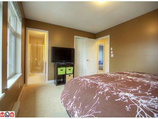 """Photo 10: 26 6036 164TH Street in SURREY: Cloverdale BC Townhouse for sale in """"ARBOUR VILLAGE"""" (Cloverdale)  : MLS®# F1202711"""